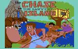 The Chase on Tom Sawyer's Island Commodore 64 Title screen