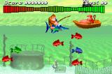 Donkey Kong Country Game Boy Advance Funky Fishing is an exclusive mini-game from this version. Catch more fishes to improve your score! And your dinner...