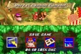 Donkey Kong Country Game Boy Advance Press the START button in the map screen to see these options
