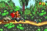 Donkey Kong Country Game Boy Advance Take a walk on the steel barrel and defeat the bad guys!