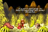 Donkey Kong Country Game Boy Advance In this version, Cranky has a chat with you after the boss is defeated. How gentle...