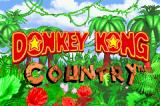 Donkey Kong Country Game Boy Advance Title screen (the shortest on-screen time that I have seen!).
