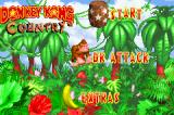 Donkey Kong Country Game Boy Advance Main menu
