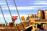 Donkey Kong Country 2: Diddy's Kong Quest Game Boy Advance Pick the object in your front and throw in enemies! Can be boxes, barrels etc.