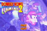 Donkey Kong Country 2: Diddy's Kong Quest Game Boy Advance Title screen (European version)