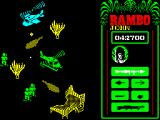 Rambo: First Blood Part II ZX Spectrum Air battle with a powerful gunship
