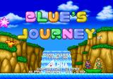 Blue's Journey Neo Geo Title
