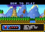 Blue's Journey Neo Geo How to Play
