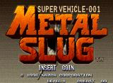 Metal Slug: Super Vehicle - 001 Neo Geo Title