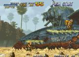 Metal Slug: Super Vehicle - 001 Neo Geo Rescue the prisoners in the level
