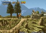 Metal Slug: Super Vehicle - 001 Neo Geo Nice view of the mountains