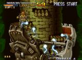 Metal Slug X Neo Geo Boss