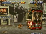 "Metal Slug X Neo Geo ""Get out of the friggin' way! Oh, there's no-one driving."""