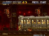 Metal Slug X Neo Geo Get out of the way before you are squashed like a bug