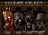 Metal Slug 3 Neo Geo Character Selection