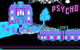 Psycho DOS Intro screen.