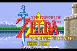 The Legend of Zelda: A Link to the Past/Four Swords Game Boy Advance Title screen ( A Link To The Past)