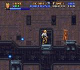 Super Star Wars SNES The sandcrawler hides many items, fool enemies, traps and... Jawas!!!