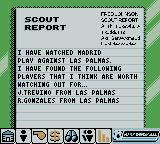Player Manager 2001 Game Boy Color Scout Report