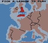 Player Manager 2001 Game Boy Color League Selection