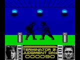 Terminator 2: Judgment Day ZX Spectrum Level 1 - Fight with T1000 in the shopping mall