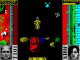 Terminator 2: Judgment Day ZX Spectrum Level 2 - Ride a motorbike through the flood channel