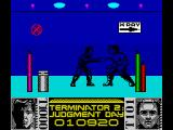 Terminator 2: Judgment Day ZX Spectrum Level 4 - Fight with T1000 in the hospital