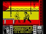 Terminator 2: Judgment Day ZX Spectrum Level 7 - Fight with T1000 in the steel mill