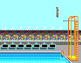 Summer Games SEGA Master System Platform Diving