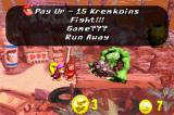Donkey Kong Country 2: Diddy's Kong Quest Game Boy Advance Collect your Kremkoins to pay Klubba and access the golden barrel. Or play a mini-game too...