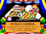 Neo Mr. Do! Arcade Title