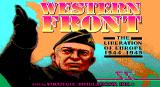 Western Front: The Liberation of Europe 1944-1945 DOS Title screen