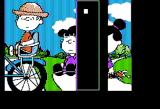 Peanuts Picture Puzzler Apple II The Puzzle is Almost Complete