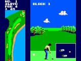 Great Golf SEGA Master System Move your feet to where you want to swing