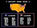 Great Baseball SEGA Master System Team selection