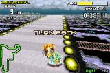 F-Zero: Maximum Velocity Game Boy Advance If you turn back, your position will decrease in a question of seconds! You could be damaged too.