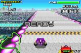 F-Zero: Maximum Velocity Game Boy Advance This pole position is very short... The machines are very aggressive and will block your way in the future.