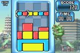 Rampage Puzzle Attack Game Boy Advance Stage 1: Lizzie in Tokyo