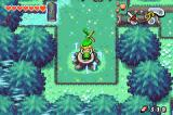 "The Legend of Zelda: The Minish Cap Game Boy Advance Ezlo sings a magical music and Link starts to morph into a ""Minish""."