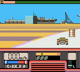 Chase H.Q.: Secret Police Game Boy Color Avoid the obstacles on the road