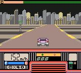 Chase H.Q.: Secret Police Game Boy Color Driving at night