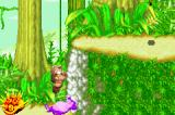 Sabre Wulf Game Boy Advance Using a creature as a trampoline.