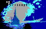 Up Periscope! DOS Title screen