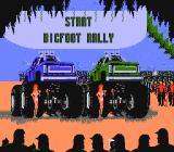 Bigfoot NES Start Screen