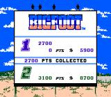 Bigfoot NES Results