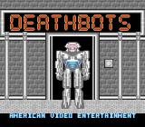 Deathbots NES Title screen