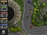 Mad Cars Windows Racing on a curving track around a nuclear power plant