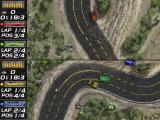 Mad Cars Windows Two-player split screen mode
