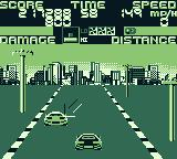 Chase H.Q. Game Boy Caught sight of the second vehicle
