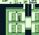 Elevator Action Game Boy Inside the building